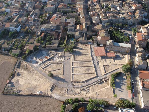Yacimiento romano Parc arqueològic Iesso
