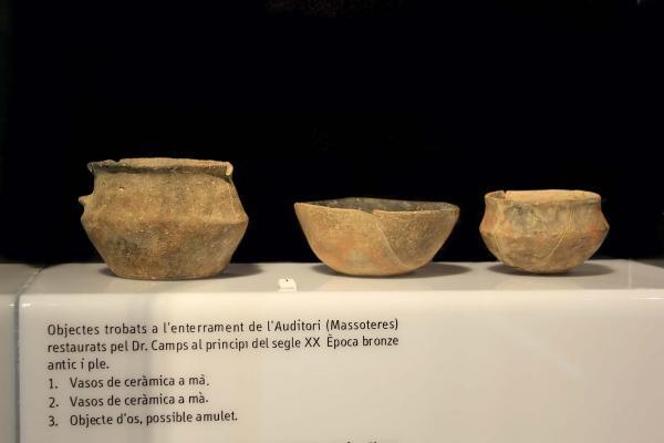 08.06.2015 Vasos de ceràmica  Guissona -  Museu Guissona