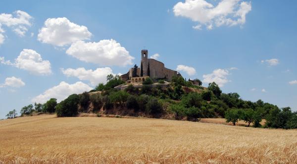 07.06.2015 vista del poble  Montfalcó Murallat -  Ramon Sunyer
