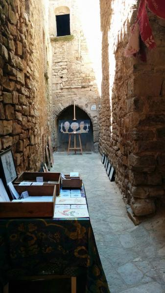 07.06.2015 exposició a la vila closa  Montfalcó Murallat -  Ramon Sunyer