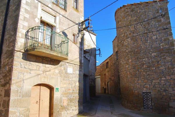 03.01.2015 restes muralla  Guarda-si-venes -  Ramon Sunyer