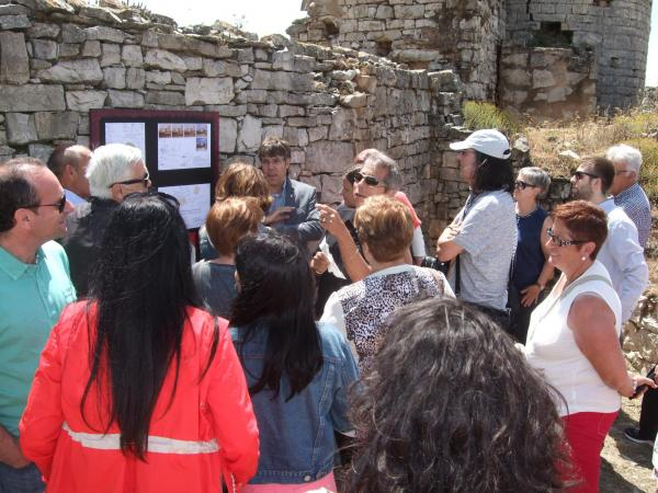 Presentació del projecte de reconstrucció de la fortalesa -
