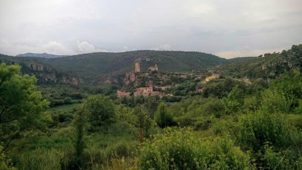 14.06.2015 Vista general  Santa Perpètua de Gaià -  Ramon Sunyer