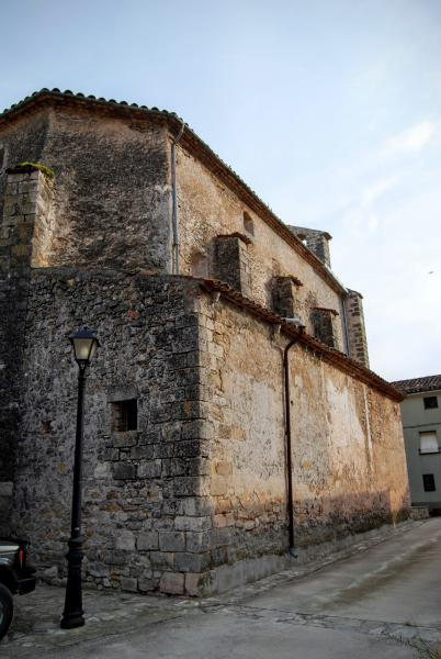 14.06.2015 Església Santa Maria gòtic (XVI)  Pontils -  Ramon Sunyer