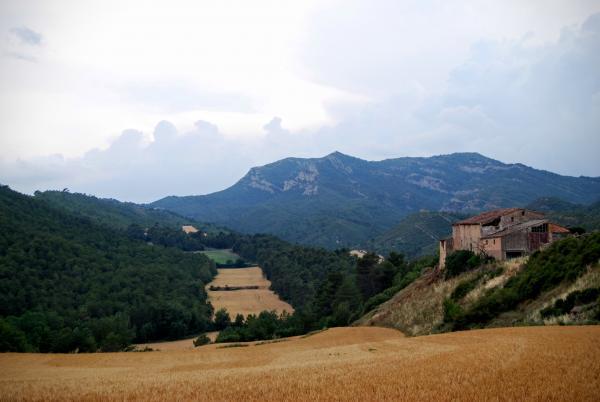 14.06.2015 Vista del Montclar des de la pista de Biure  Biure de Gaià -  Ramon Sunyer