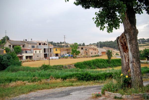 14.06.2015 vista del poble  Biure de Gaià -  Ramon Sunyer
