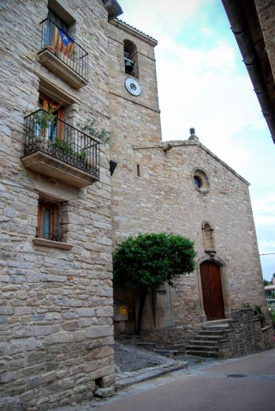14.06.2015 Església Sant Martí neoclàssic (XVIII)  Les Piles -  Ramon Sunyer