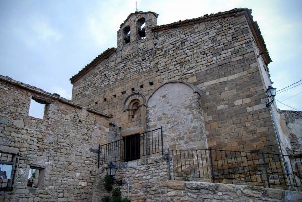 14.06.2015 Església Santa Maria romànic (XII)  Guialmons -  Ramon Sunyer