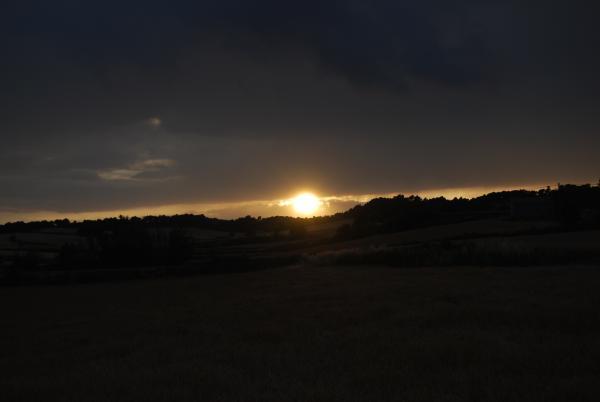 14.06.2015 posta de sol  Guialmons -  Ramon Sunyer