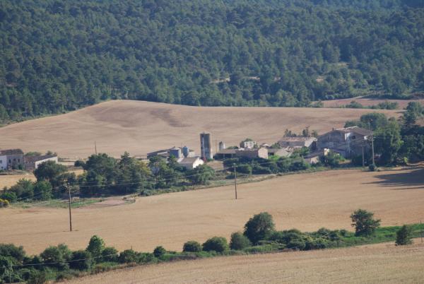 24.06.2015 Vista del poble  Montealegre -  Ramon Sunyer