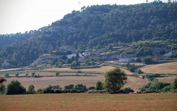 24.06.2015 Vista del poble  Valldeperes -  Ramon Sunyer