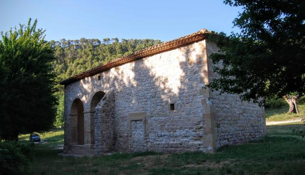Chapel of Fonts de Sant Magí de Brufaganya - Author Ramon Sunyer (2015)