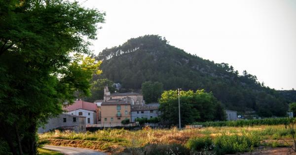 24.06.2015 vista del poble  Pontils -  Ramon Sunyer