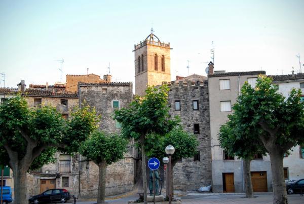24.06.2015 Detall campanar  Santa Coloma de Queralt -  Ramon Sunyer