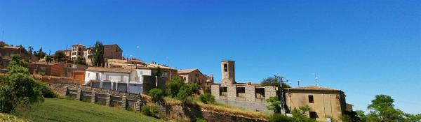 18.05.2015 Panoràmica del poble  Montpalau -  Ramon Sunyer