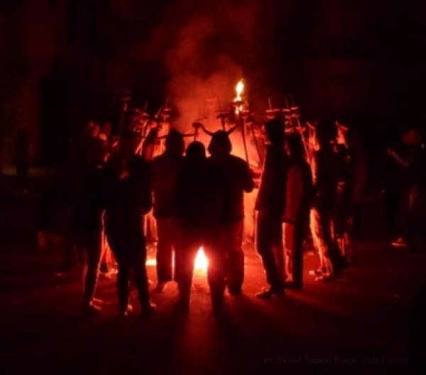 04.07.2015 7a Trobada de diables de la Segarra Històrica  Sanaüja -  Daniel Espejo Fraga