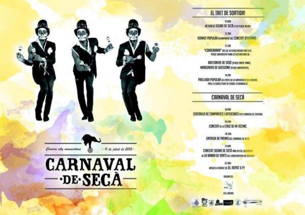 cartell 2n Carnaval de Secà