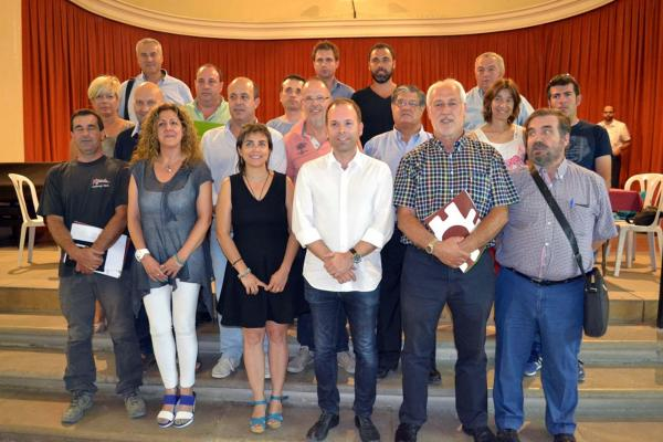 Membres electes del consell comarcal de la Segarra