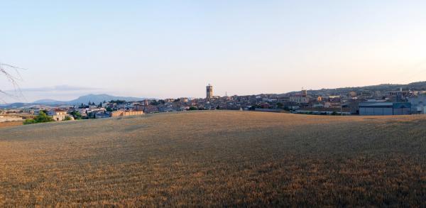 24.06.2015 Vista general  Santa Coloma de Queralt -  Ramon Sunyer