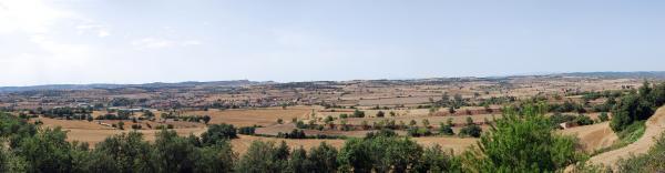 15.07.2015 Vista dels Prats de Rei  La Manresana -  Ramon Sunyer
