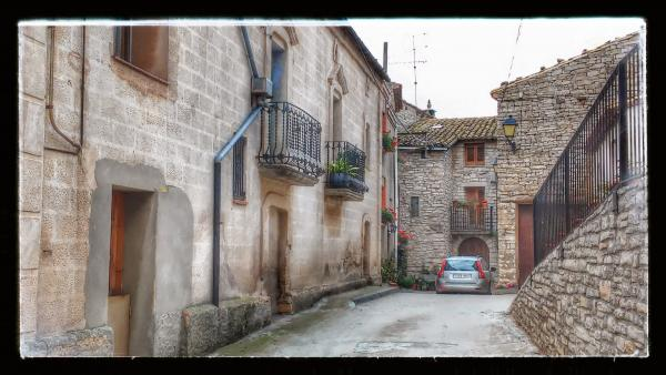 24.08.2014 carrer  Viver de Segarra -  Ramon Sunyer