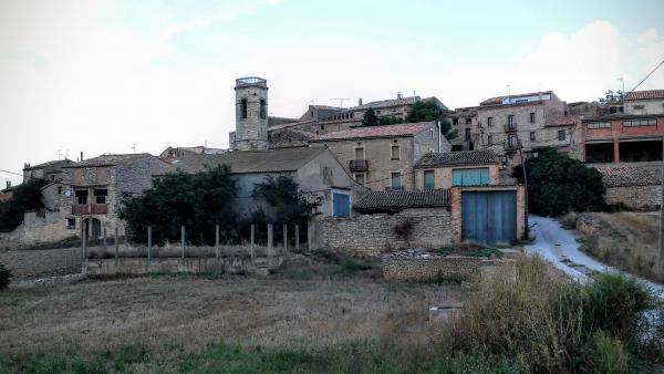 24.08.2014 vista poble  Viver de Segarra -  Ramon Sunyer