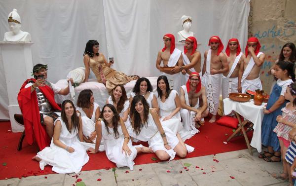 18.07.2014 La Cort de Cleopatra  Guissona -  mercatroma.cat