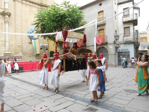 21.07.2015 cort de Cleopatra  Guissona -  Turisme Guissona