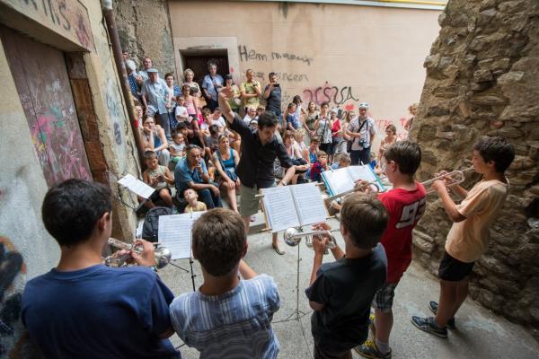 21.07.2015 Concert de trompetes  Cervera -  Jordi Prat