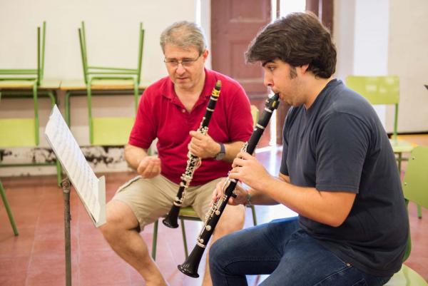 22.07.2015 classe del Curs de Música  Cervera -  Jordi Prat