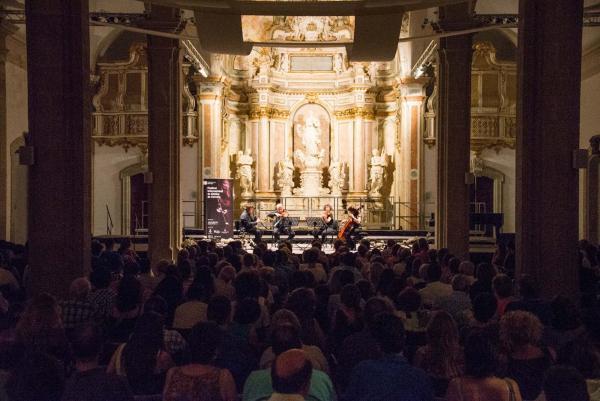 22.07.2015 Concert de la XII Fira de Lutiers. Música de Cambra  Cervera -  Jordi Prat