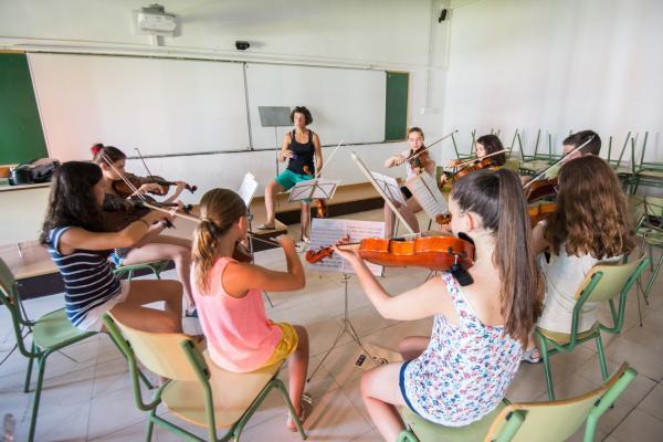 23.07.2015 classe del Curs de Música  Cervera -  Jordi Prat