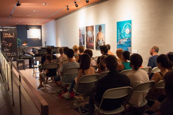 23.07.2015 Concert piano Vila closa  Cervera -  Jordi Prat