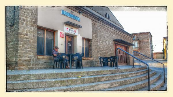 20.08.2014 lo Cafè  Les Pallargues -  Ramon Sunyer
