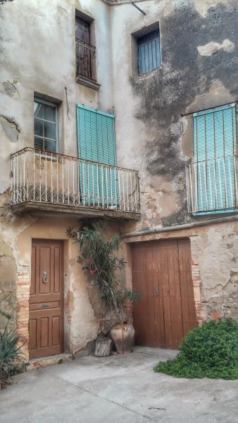 20.08.2014 detall carrer  Les Pallargues -  Ramon Sunyer