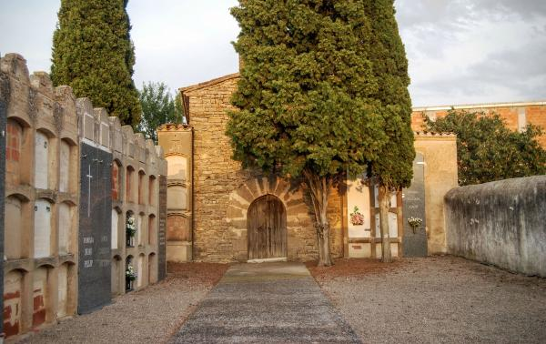 22.08.2015 cementiri  Vilagrasseta -  Ramon Sunyer