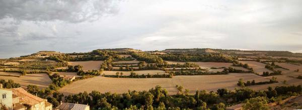 22.08.2015 panoràmica paisatge  Vilagrasseta -  Ramon Sunyer