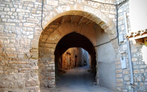 28.08.2015 Portal de la Vila Closa  Granyanella -  Ramon Sunyer