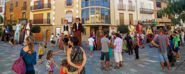 29.08.2015 Trobada gegants  Torà -  Ramon Sunyer