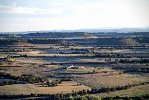 12.09.2015 paisatge  La Curullada -  Ramon Sunyer