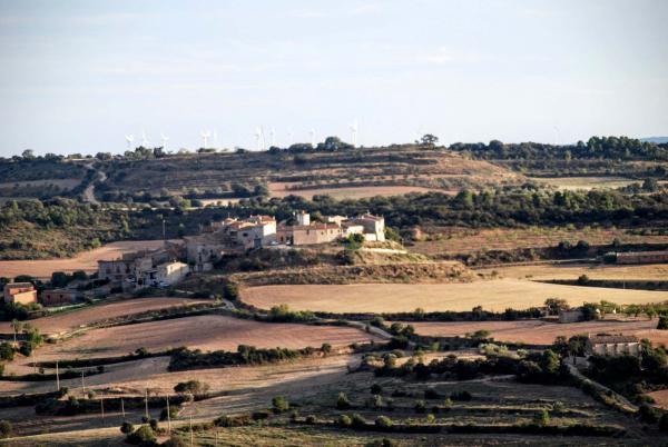 12.09.2015 Vista des de la Curullada  Granyanella -  Ramon Sunyer
