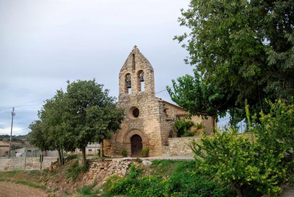 12.09.2015 Església de sant Jaume s XII  La Móra -  Ramon Sunyer