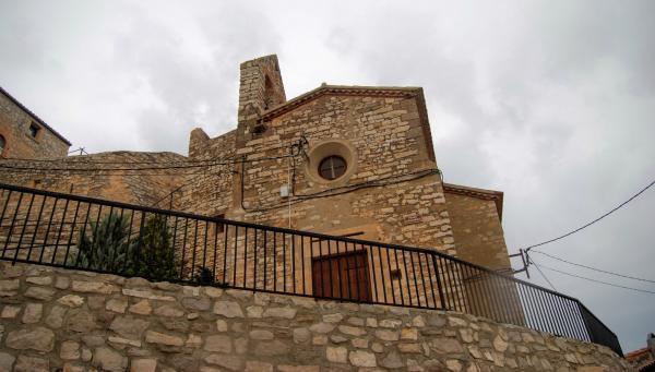 12.09.2015 Església Santa Maria barroc (XI, XVII)  Fonolleres -  Ramon Sunyer