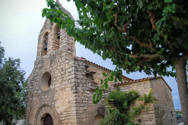 12.09.2015 Església Sant Jaume La Móra romànic s XII  La Móra -  Ramon Sunyer