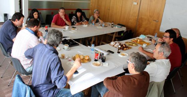 L'assemblea es va celebrar al Centre Cívic de Sant Guim - Sant Guim de Freixenet