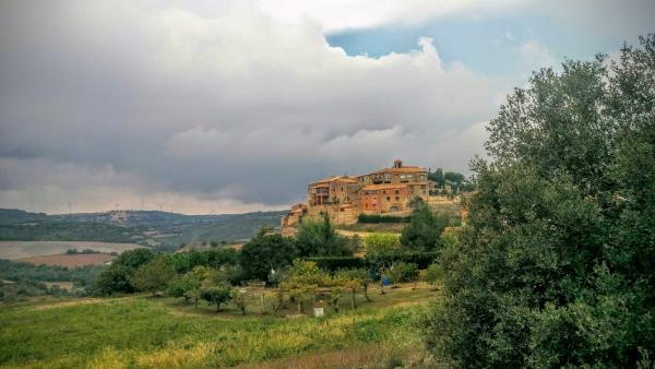 27.09.2015 vista del poble  Mirambell -  Ramon Sunyer