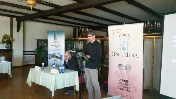 Albert Turull, president de l'Espitllera, va obrir la jornada - Torà