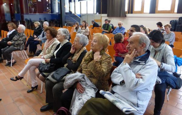 24.10.2015 Públic a l'entrega 7è premi Jordi Pàmias  Guissona -  Aj Guissona