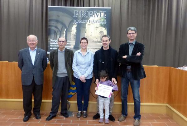 24.10.2015 Eduard Batlle guanya la 7a edició del premi de poesia Jordi Pàmias  Guissona -  Aj Guissona