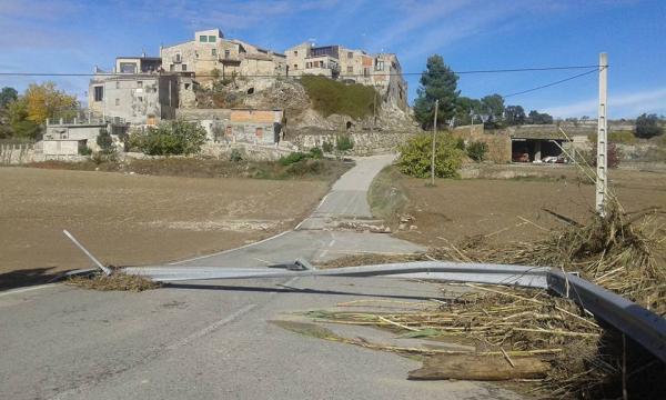 03.11.2015 Destrosses provocades per l'aiguat  Briançó -  Rosa Martí